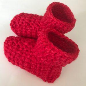 Red Slippe Socks